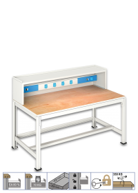 ELECTRONIC TABLE (1700x900x930 mm)