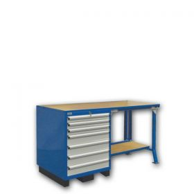WORKBENCH (1700x700x930 mm)-Without hanging panel